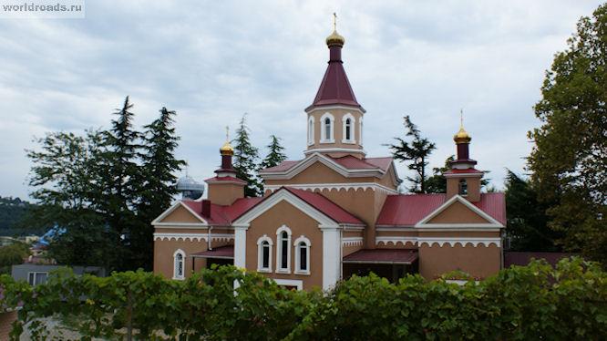 Алексиевский храм Туапсе