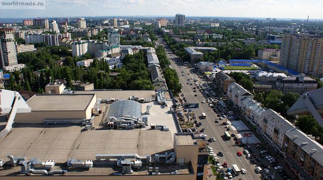 Кольцовская улица Воронеж