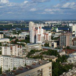 Воронеж с высоты птичьего полёта