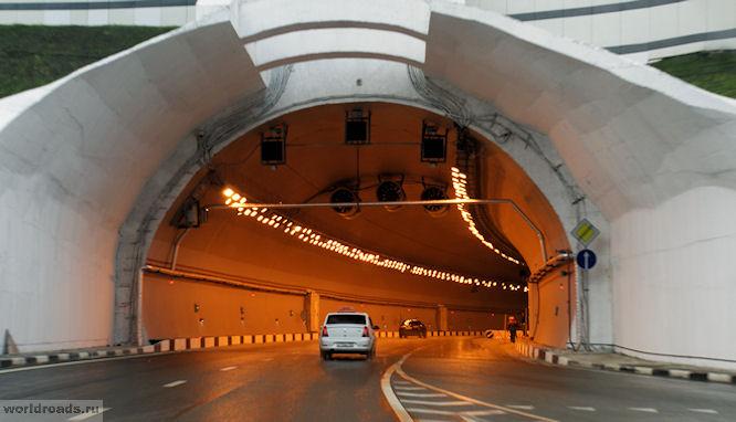 Тоннель в Сочи