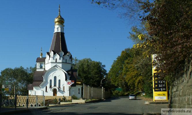 Часовня Ушакова в Кудепсте