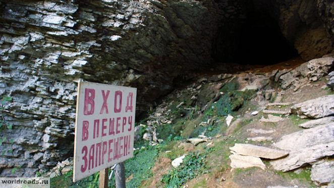 Тисо-самшитовая роща пещера