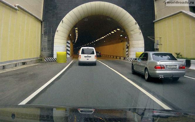 Туннель Сочи