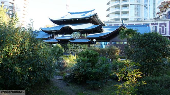 Сочи Японский сад