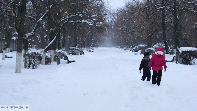 Александровский парк Новочеркасск