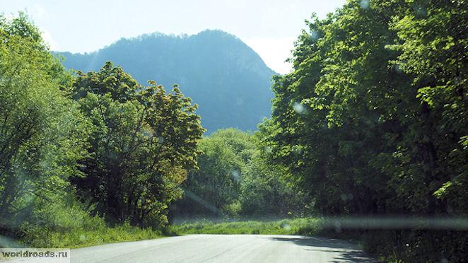 Дорога к Пещере вечной мерзлоты