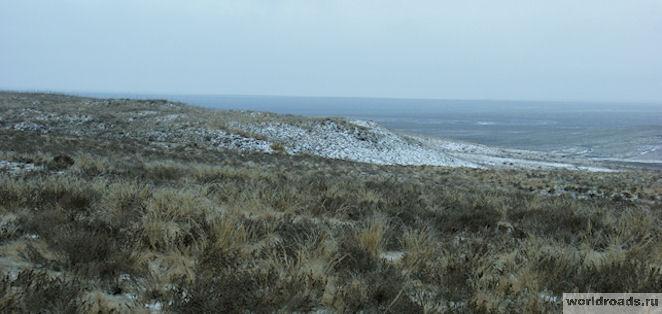 Калмыцкая степь зимой