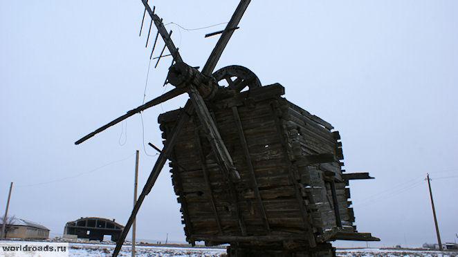 Ветряная мельница Калмыкии