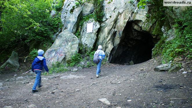 Пещера вечной мерзлоты в Железноводске