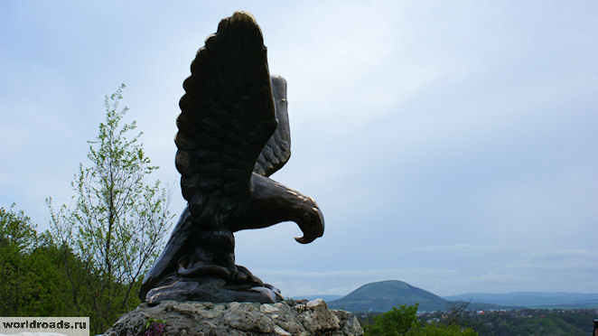 Орёл в Пятигорске