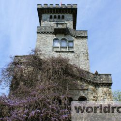 Гора Ахун и Ахунская башня