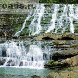 Достопримечательности Сочи: Змейковские водопады
