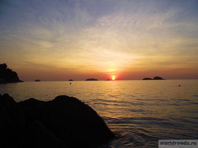 Закаты в Таиланде