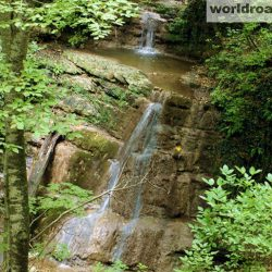 Водопады посёлка Агой