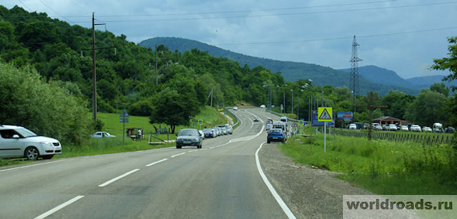 Дорога на Лагонаки