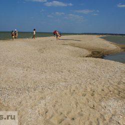Павло-Очаковская коса на Азовском море