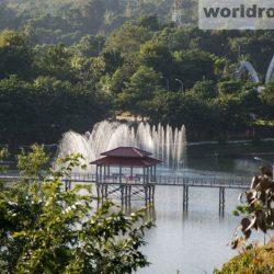 Парк фонтанов Нейпьидо. Naypyitaw Fountain Park