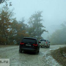 Дорога из Туапсе через Шаумянский перевал
