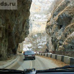 Дорога на Чегемские водопады Кабардино-Балкарии