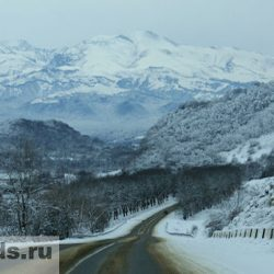 Дорога на Голубые озера Кабардино-Балкарии
