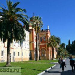 Новый Афон, путешествие в Абхазию в ноябре