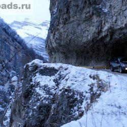 Черекское ущелье, дорога в Верхнюю Балкарию