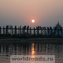 Мост У Бейн – самый длинный деревянный мост в мире