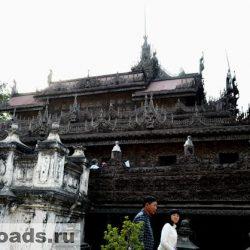 Достопримечательности Мьянмы: Швенандо – кочующий монастырь