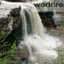 Лермонтовский водопад Кисловодска
