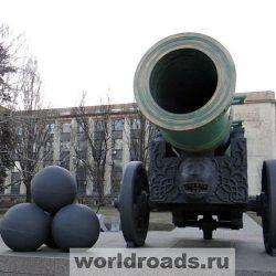 Прогулка у «Донбасс Арены» в Донецке