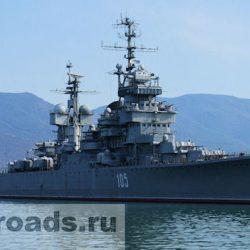 Крейсер «Михаил Кутузов» в Новороссийске