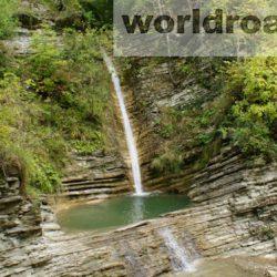 Водопады Геленджика: Цегельский водопад