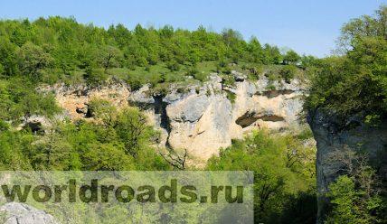 Ущелье Мешоко, Адыгея