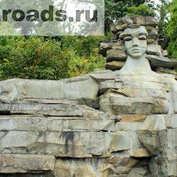 Скульптурная композиция «Мацеста» — легенда и история