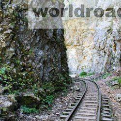 На поезде по Гуамскому ущелью