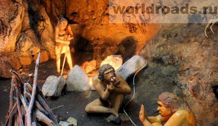 Стоянка древнего человека в Каменномостском