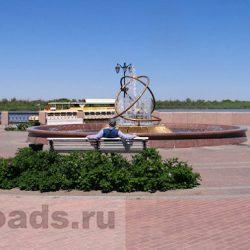 Прогулка по набережной Астрахани