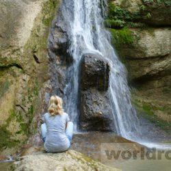 Путешествие по водопадам Адыгеи