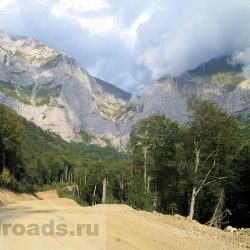 Дорога на Пшехский водопад (Адыгея)