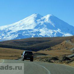 Кавказ. Дорога на Джилы-Су