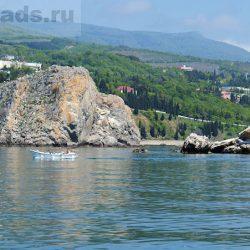 Скалы Адалары – символ Гурзуфа в Крыму