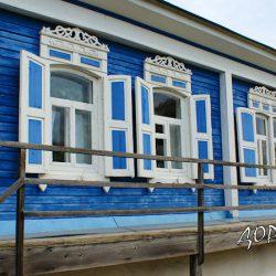 Старый дом Шолохова в станице Вёшенской