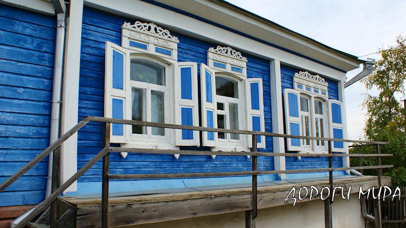 Старый дом Шолохова Вешенская