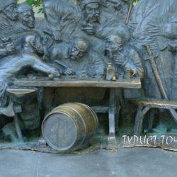 Памятник запорожским казакам в Краснодаре