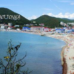 Мыс Грязнова в Ольгинке, откуда прекрасные виды на побережье