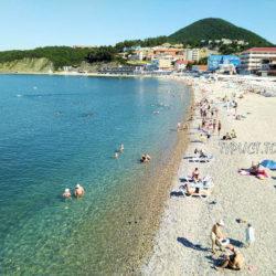 Чёрное море. Как сейчас выглядят пляжи Ольгинки